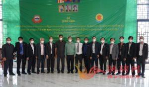 广东惠州市侨联携柬华理事总会、林氏宗亲总会向柬官方捐赠防疫物资插图