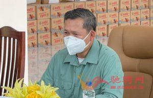 广东惠州市侨联携柬华理事总会、林氏宗亲总会向柬官方捐赠防疫物资插图(2)