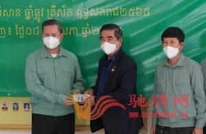 广东惠州市侨联携柬华理事总会、林氏宗亲总会向柬官方捐赠防疫物资插图(3)