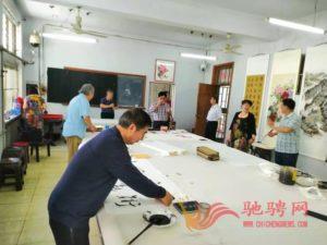 翰墨飘香颂党恩,妙笔丹青庆盛世插图(1)